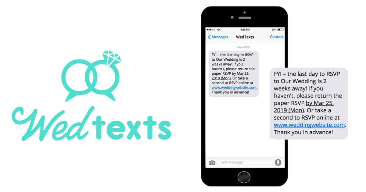 Wedding Text Messages To Enhance Your Guest Experience